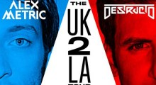 DESTRUCTO and Alex Metric Embark In North American Tour In 2014