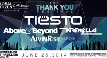"Tiësto, Above & Beyond, Krewella & More To Perform At ""Thank You Festival"""